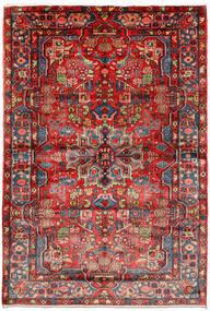Nahavand Old Vloerkleed 161X235 Echt Oosters Handgeknoopt Donkerrood/Roestkleur (Wol, Perzië/Iran)