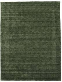 Handloom Gabba - Bosgroen Vloerkleed 210X290 Modern Donkergroen (Wol, India)
