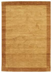 Handloom Frame - Goud Vloerkleed 160X230 Modern Lichtbruin/Bruin (Wol, India)