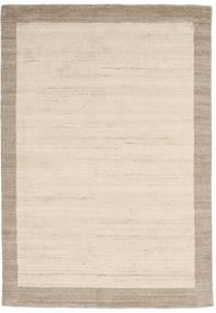 Handloom Frame - Natural/Zand Vloerkleed 160X230 Modern Beige/Lichtgrijs (Wol, India)