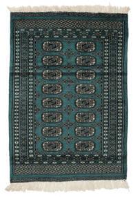 Pakistan Bokhara 2Ply Vloerkleed 80X113 Echt Oosters Handgeknoopt Zwart/Wit/Creme (Wol, Pakistan)