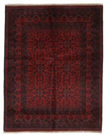 Afghan Khal Mohammadi Vloerkleed 155X198 Echt Oosters Handgeknoopt Zwart/Beige (Wol, Afghanistan)