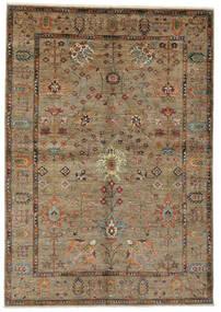 Ziegler Ariana Vloerkleed 169X242 Echt Oosters Handgeknoopt Donkerbruin/Zwart (Wol, Afghanistan)