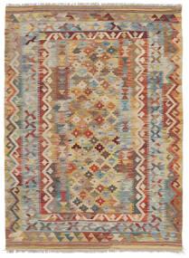 Kelim Afghan Old Style Vloerkleed 100X147 Echt Oosters Handgeweven Donkerbruin/Bruin (Wol, Afghanistan)