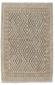 Kelim Afghan Old Style Vloerkleed 124X186 Echt Oosters Handgeweven Donkerbruin/Bruin (Wol, Afghanistan)